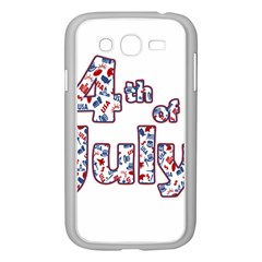 4th Of July Independence Day Samsung Galaxy Grand Duos I9082 Case (white) by Valentinaart