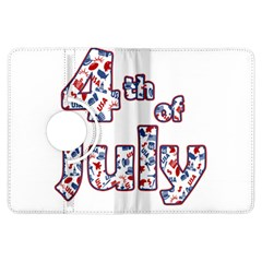 4th Of July Independence Day Kindle Fire Hdx Flip 360 Case by Valentinaart
