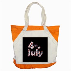 4th Of July Independence Day Accent Tote Bag by Valentinaart