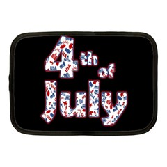 4th Of July Independence Day Netbook Case (medium)  by Valentinaart