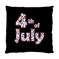 4th Of July Independence Day Standard Cushion Case (one Side) by Valentinaart