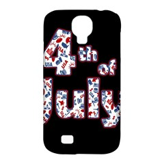 4th Of July Independence Day Samsung Galaxy S4 Classic Hardshell Case (pc+silicone) by Valentinaart