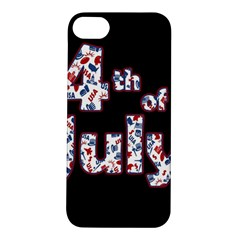 4th Of July Independence Day Apple Iphone 5s/ Se Hardshell Case by Valentinaart