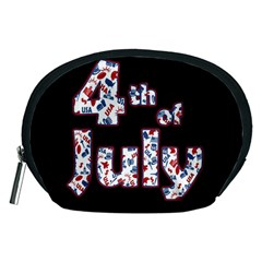 4th Of July Independence Day Accessory Pouches (medium)  by Valentinaart