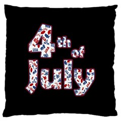 4th Of July Independence Day Standard Flano Cushion Case (one Side) by Valentinaart