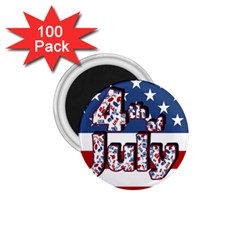 4th Of July Independence Day 1 75  Magnets (100 Pack)  by Valentinaart