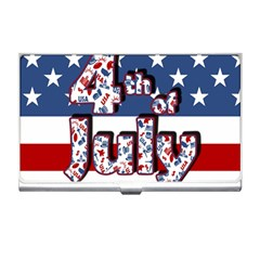 4th Of July Independence Day Business Card Holders by Valentinaart