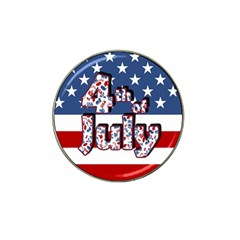 4th Of July Independence Day Hat Clip Ball Marker (10 Pack) by Valentinaart
