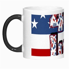 4th Of July Independence Day Morph Mugs by Valentinaart