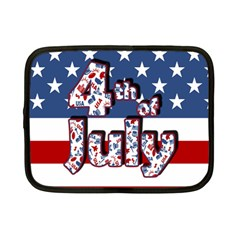 4th Of July Independence Day Netbook Case (small)  by Valentinaart