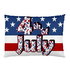 4th Of July Independence Day Pillow Case by Valentinaart