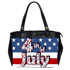 4th Of July Independence Day Office Handbags (2 Sides)  by Valentinaart