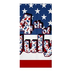 4th Of July Independence Day Shower Curtain 36  X 72  (stall)  by Valentinaart