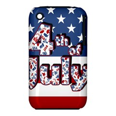 4th Of July Independence Day Iphone 3s/3gs by Valentinaart