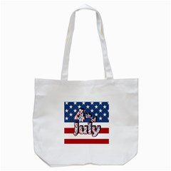 4th Of July Independence Day Tote Bag (white) by Valentinaart
