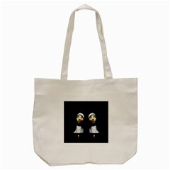 Horror Nuns Tote Bag (cream) by Valentinaart