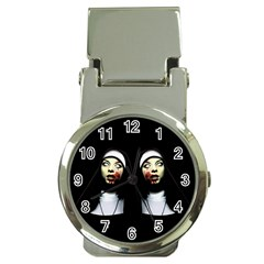 Horror Nuns Money Clip Watches by Valentinaart