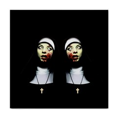 Horror Nuns Face Towel by Valentinaart
