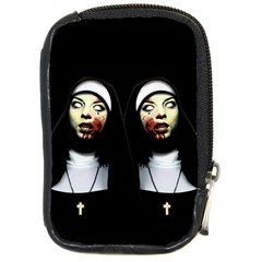 Horror Nuns Compact Camera Cases by Valentinaart