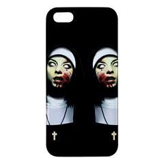 Horror Nuns Iphone 5s/ Se Premium Hardshell Case by Valentinaart