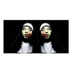 Horror Nuns Satin Shawl by Valentinaart