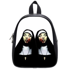 Horror Nuns School Bags (small)  by Valentinaart