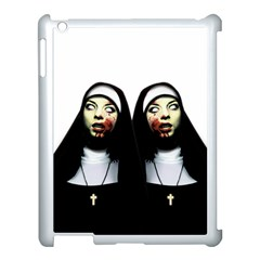 Horror Nuns Apple Ipad 3/4 Case (white) by Valentinaart