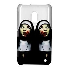 Horror Nuns Nokia Lumia 620 by Valentinaart