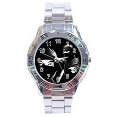 Ninja Stainless Steel Analogue Watch
