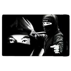 Ninja Apple Ipad 2 Flip Case by Valentinaart