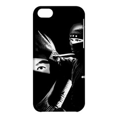 Ninja Apple Iphone 5c Hardshell Case by Valentinaart