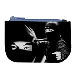 Ninja Large Coin Purse by Valentinaart