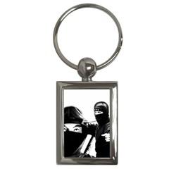 Ninja Key Chains (rectangle)  by Valentinaart