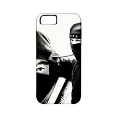 Ninja Apple Iphone 5 Classic Hardshell Case (pc+silicone) by Valentinaart