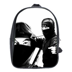 Ninja School Bags (xl)  by Valentinaart