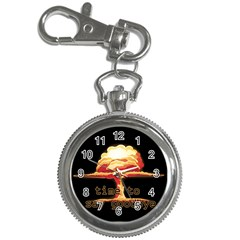 Nuclear Explosion Key Chain Watches by Valentinaart