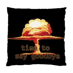 Nuclear Explosion Standard Cushion Case (one Side) by Valentinaart