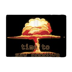 Nuclear Explosion Apple Ipad Mini Flip Case by Valentinaart