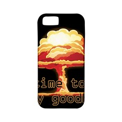 Nuclear Explosion Apple Iphone 5 Classic Hardshell Case (pc+silicone) by Valentinaart