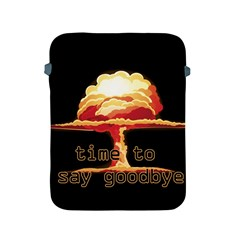 Nuclear Explosion Apple Ipad 2/3/4 Protective Soft Cases by Valentinaart