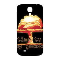 Nuclear Explosion Samsung Galaxy S4 I9500/i9505  Hardshell Back Case by Valentinaart