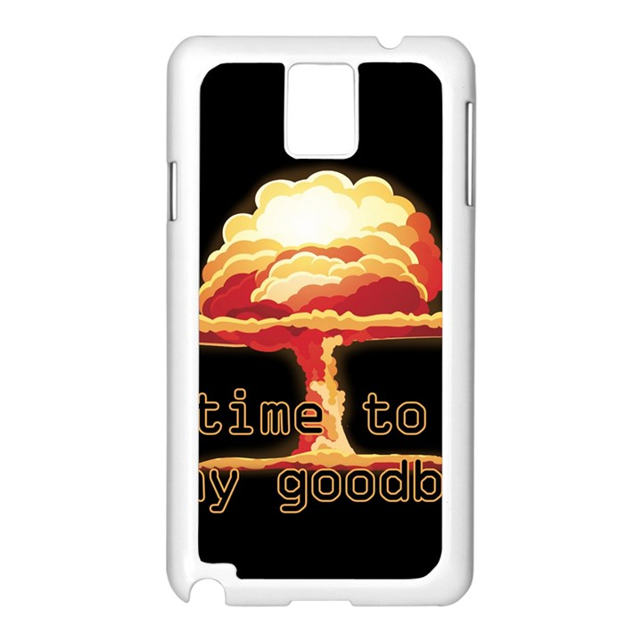 Nuclear Explosion Samsung Galaxy Note 3 N9005 Case (White)