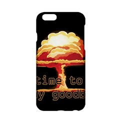 Nuclear Explosion Apple Iphone 6/6s Hardshell Case by Valentinaart