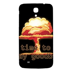 Nuclear Explosion Samsung Galaxy Mega I9200 Hardshell Back Case by Valentinaart