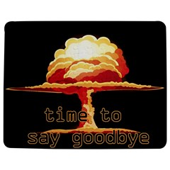 Nuclear Explosion Jigsaw Puzzle Photo Stand (rectangular) by Valentinaart