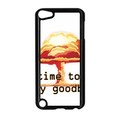 Nuclear Explosion Apple Ipod Touch 5 Case (black) by Valentinaart