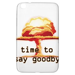 Nuclear Explosion Samsung Galaxy Tab 3 (8 ) T3100 Hardshell Case  by Valentinaart
