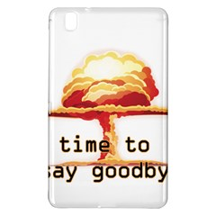 Nuclear Explosion Samsung Galaxy Tab Pro 8 4 Hardshell Case by Valentinaart