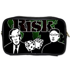 Nuclear Explosion Trump And Kim Jong Toiletries Bags 2 Side by Valentinaart