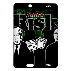 Nuclear Explosion Trump And Kim Jong Amazon Kindle Fire Hd (2013) Hardshell Case by Valentinaart